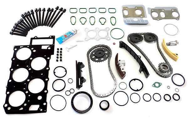 Timing Chain Kit with Engine Seals/Gaskets - VW / SEAT V5 - Engine Code AGZ
