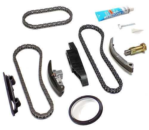 Timing Chain Kit 10 PCS - VW / SEAT 2.8 V6, 3.2 RSI Engine AQP, AUE, AXJ