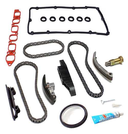 Timing Chain Kit 18 PCS - VW / SEAT 2.8 V6, 3.2 RSI Engine AQP, AUE, AXJ