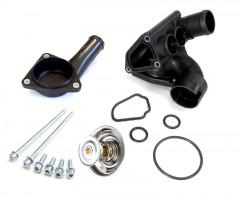 Coolant Flange for Thermostat Housing - VW Bora, Golf IV Engine V6 AQP, AUE