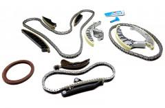 Timing Chain Kit 14 PCS - Audi A6, A7 3.0 TDI Engine CRTD, CRTE, CRTF, CZVA, CZVB, CZVC, CZVD