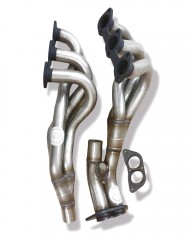 TeZet Manifold Header Stainless Steel for BMW 3-series E30 / 320i with catalyst (1988-1991) 95 KW Engine M20