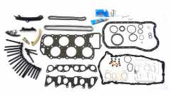 Timing Chain Kit Duplex with Engine Seals/Gaskets - VW VR6 Engine AAA, ABV
